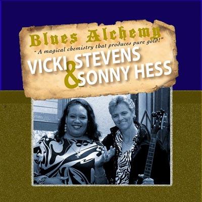 Vicki Stevens Sonny Hess CD cover