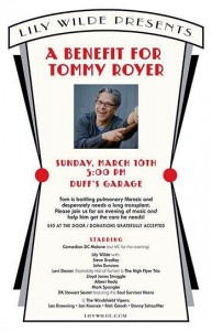 benefit for tom royer