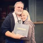 Greg Johnson Jenn Ocken with book - photo by Kelly Thornton