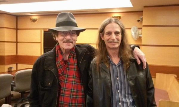Barry Blackwell with friend Cliff Larson - photo courtesy of Cliff Larson