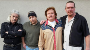 The Ted Vaughn Blues Band photo by Peggy Vaughn