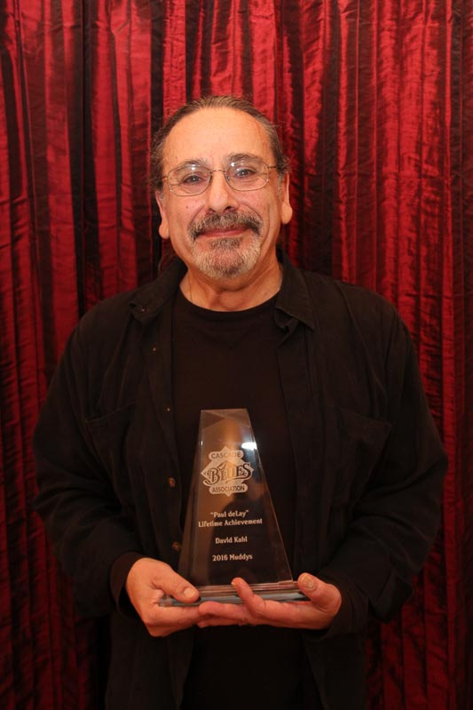"""Dave Kahl - """"Paul deLay"""" Lifetime Achievement Award."""