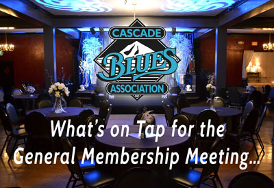 What's on Tap for General Membership Meeting